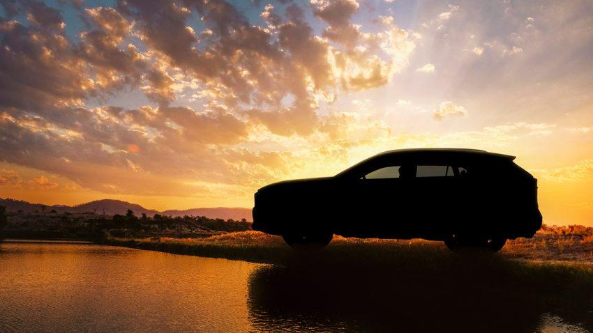 Toyota RAV4 Teaser New York Autoshow