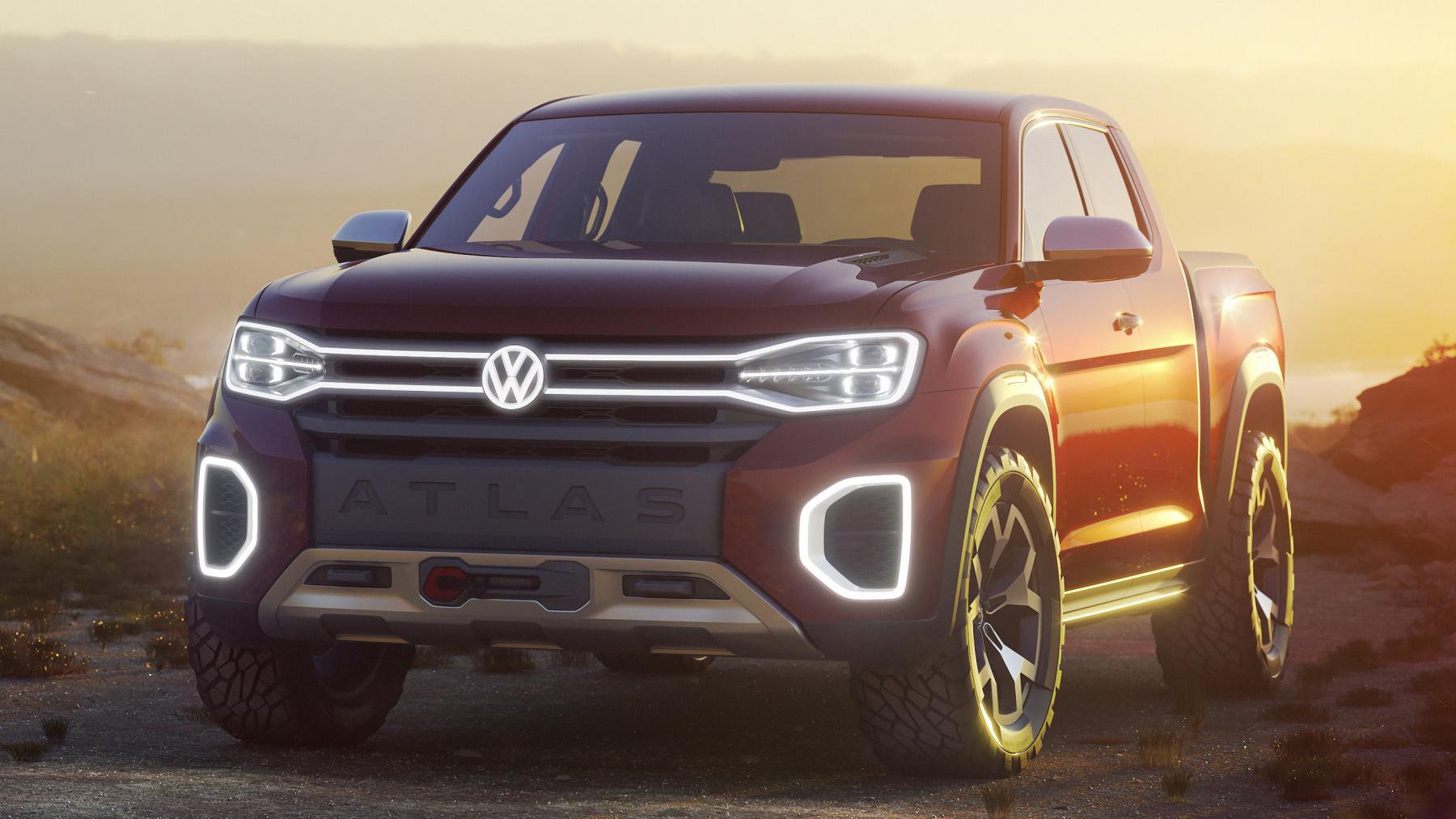 VW Atlas Tanoak Pick-up USA Volkswagen Dieselgate