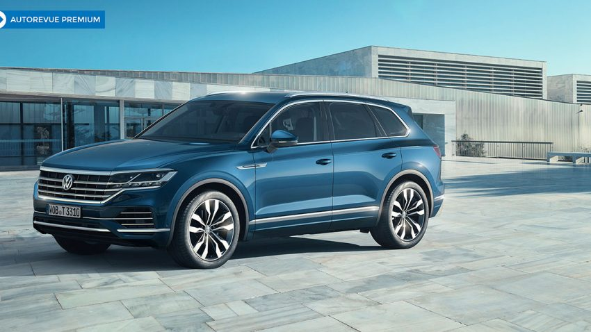 Erste Fahrt im neuen VW Touareg: Macht & Musik