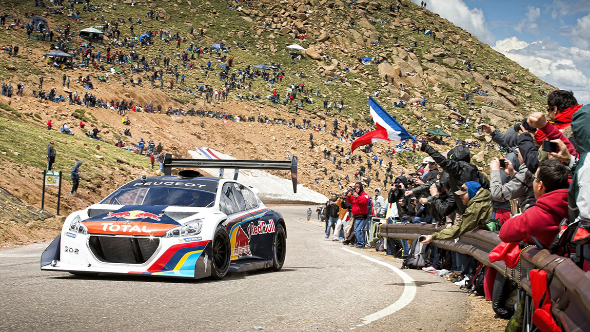 Sebastien Loeb Peugeot 208 Pikes Peak International Hill Climb