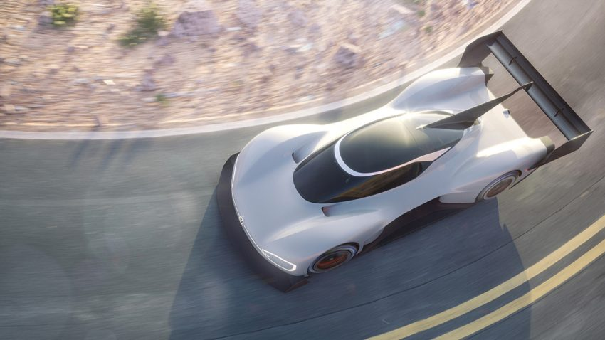 Volkswagen I.D. R Pikes Peak International Hill climb