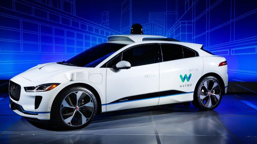 Waymo baut 20.000 Jaguar I-PACE zu selbstfahrenden Taxis um - Tests starten bereits 2018