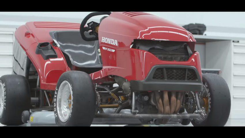 Schnellster Rasenmäher der Welt: Honda plant neuen Weltrekord