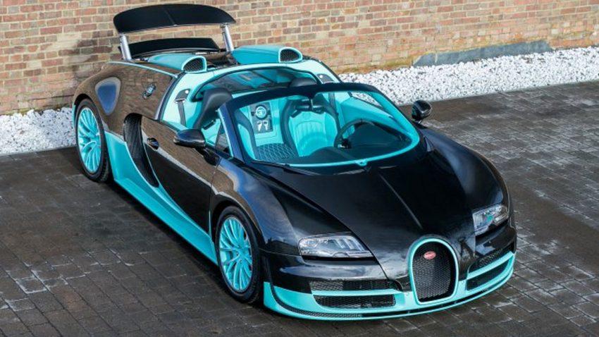 Farb-Flash: Bugatti Veyron Grand Sport Vitesse in Tiffany-Blau