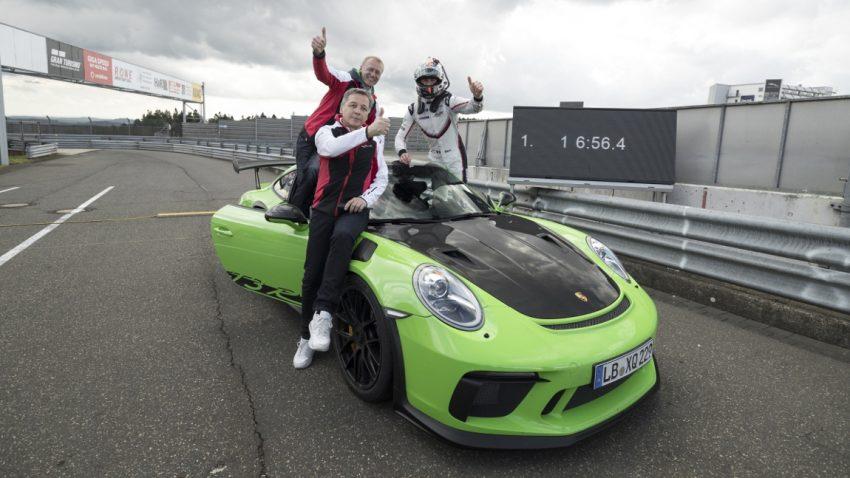 6.56,4 Minuten: Der Porsche 911 GT3 RS am Nürburgring
