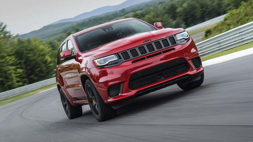 Mit 710 PS in 3,7 Sekunden von 0 auf 100: Der Grand Cherokee Trackhawk ist der stärkste Jeep<sub>®</sub> aller Zeiten