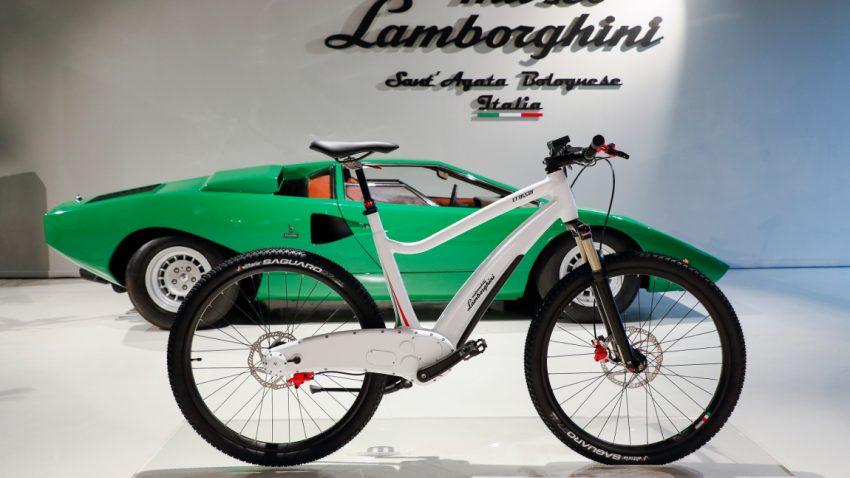 Lamborghini baut jetzt auch E-Bikes