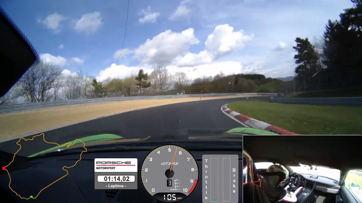 Video: In unter 7 Minuten über die Nürburgring-Nordschleife - mit dem Porsche 911 GT3 RS
