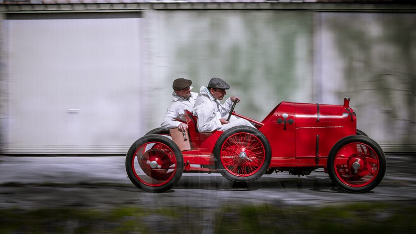 Austro Daimler ADS R Sascha Wagen