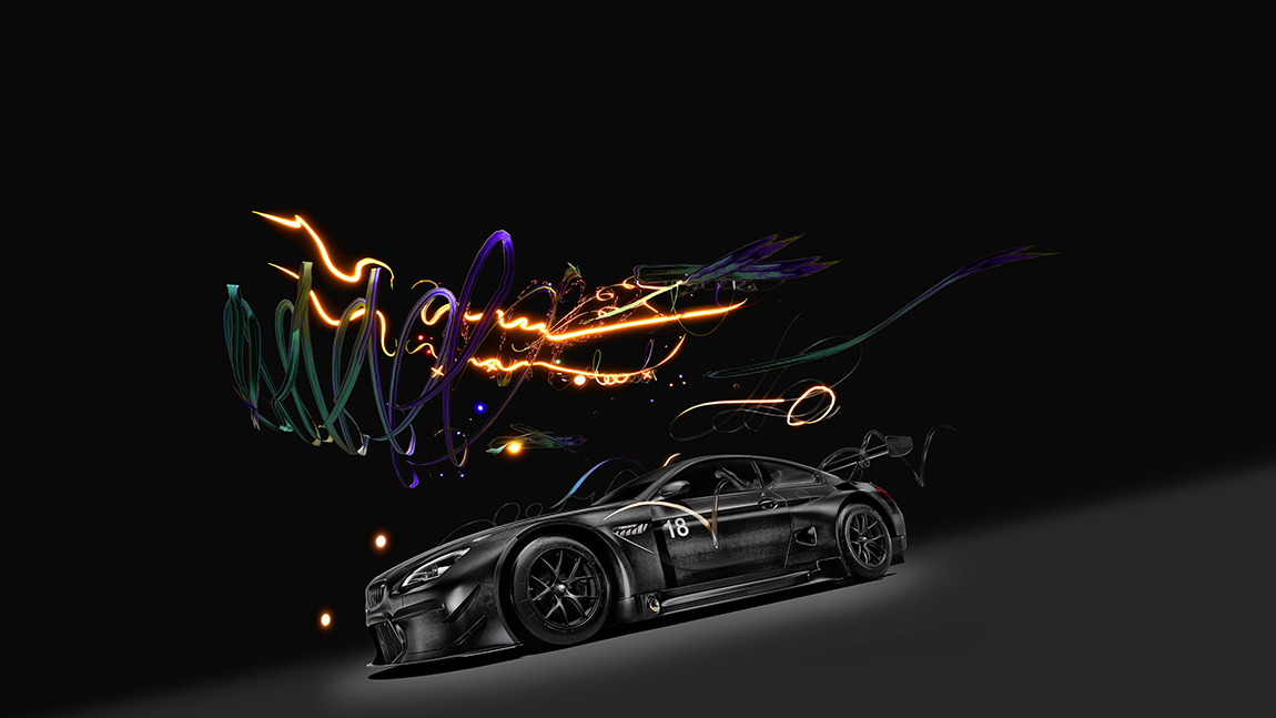 BMW M6 GT3 Art Car Cao Fei