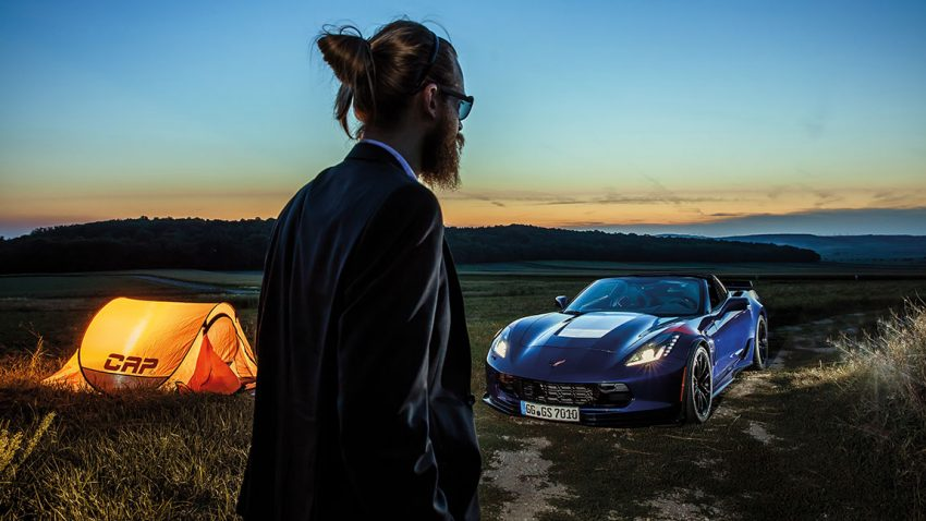 Corvette Grand Sport Z07: Lonely Rider