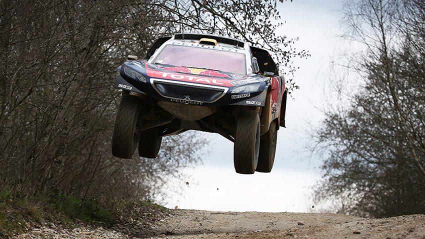 Schade, dass dieser Peugeot 2008 bei keinem  Händler zu haben ist: 45 cm Federweg und 350 PS wären doch überall praktisch, oder?