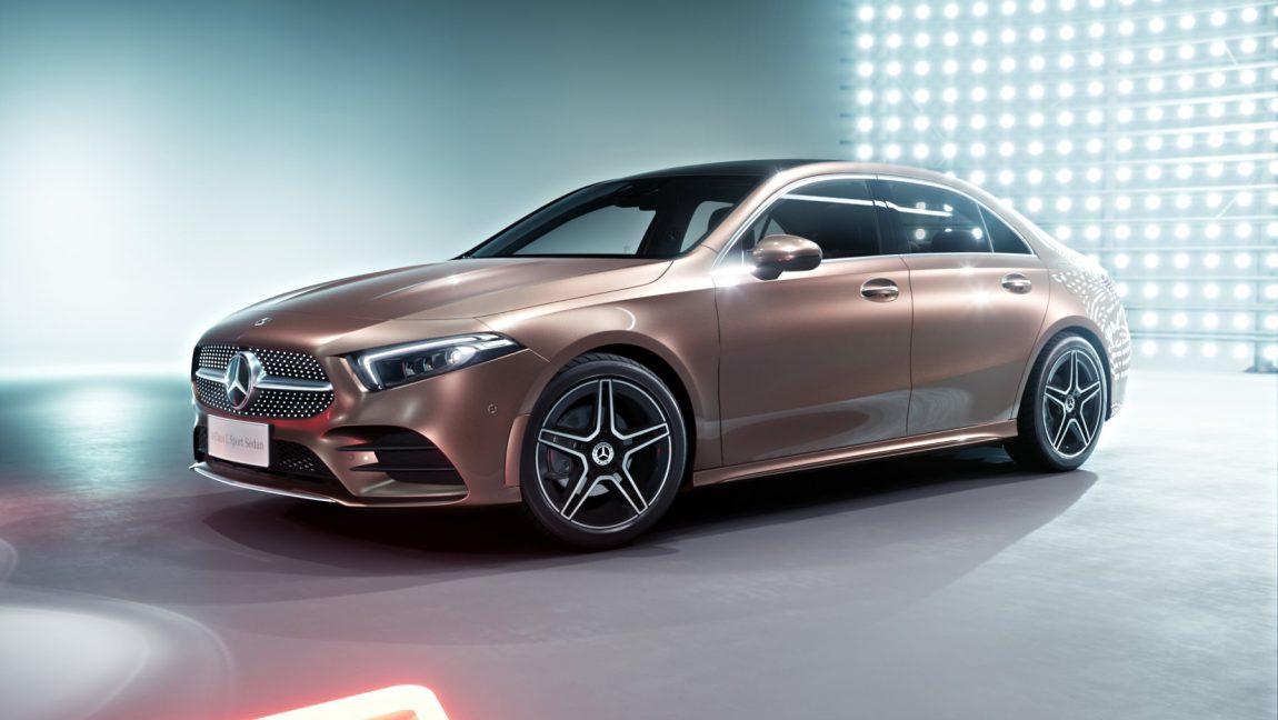 Mercedes A Klasse Limousine Langer Radstand Fur Das Einstiegsauto