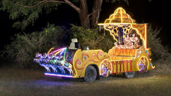 Sameer Raichur indische Hochzeitsautos Zeremonie