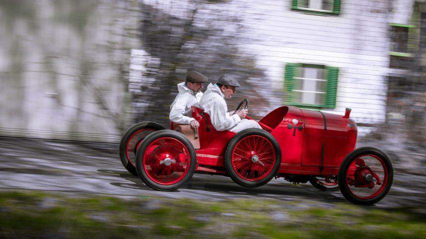 Sascha-Wagen: Der Kleine, der Dicke und die Targa Florio