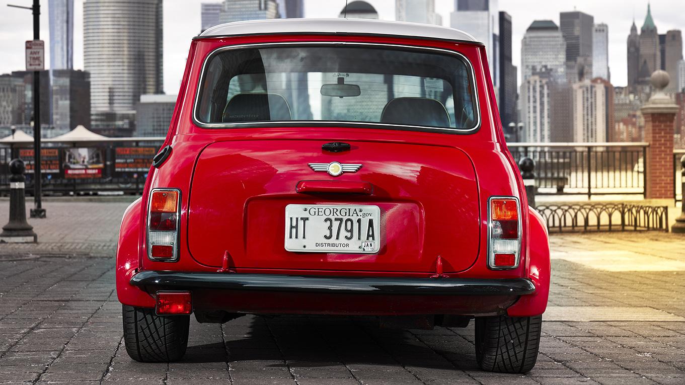 Ur-Mini Elektroauto Mini als reine Elektromarke NYIAS Mini Electric Concept