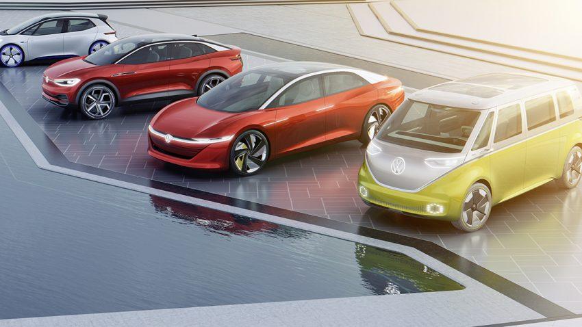 VW I.D. BAukasten Elektroauto