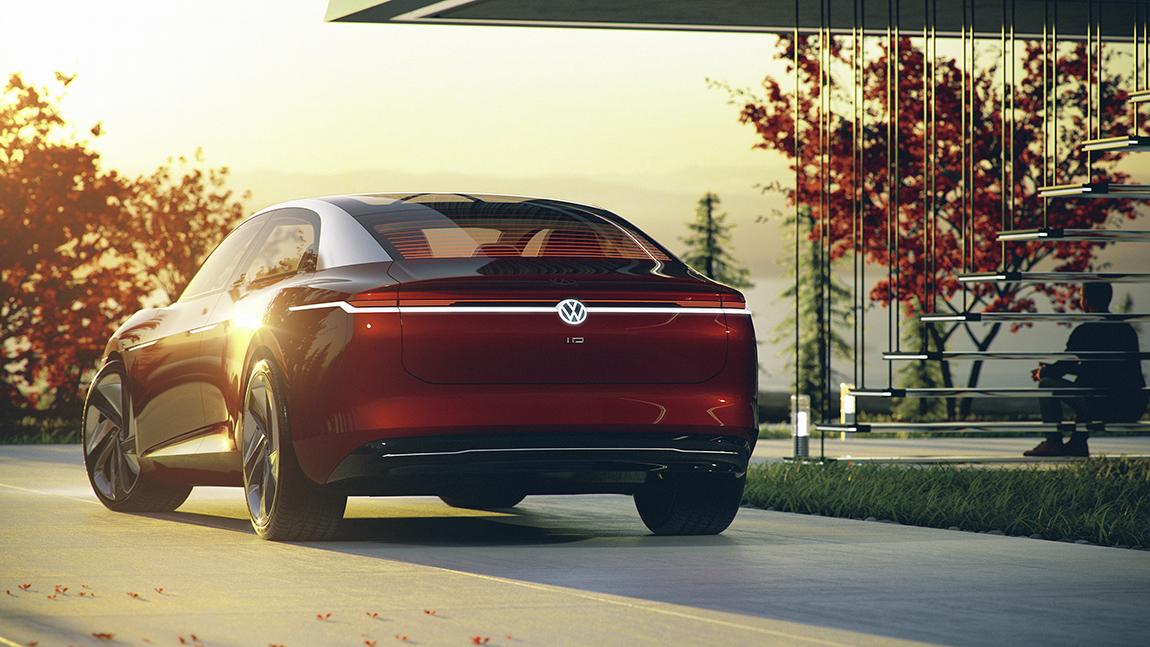 VW I.D. Vizzion Elektroauto
