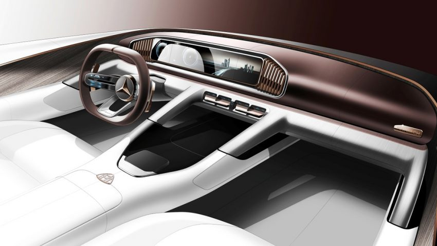 Vision Mercedes-Maybach Ultimate Luxury Auto China Peking