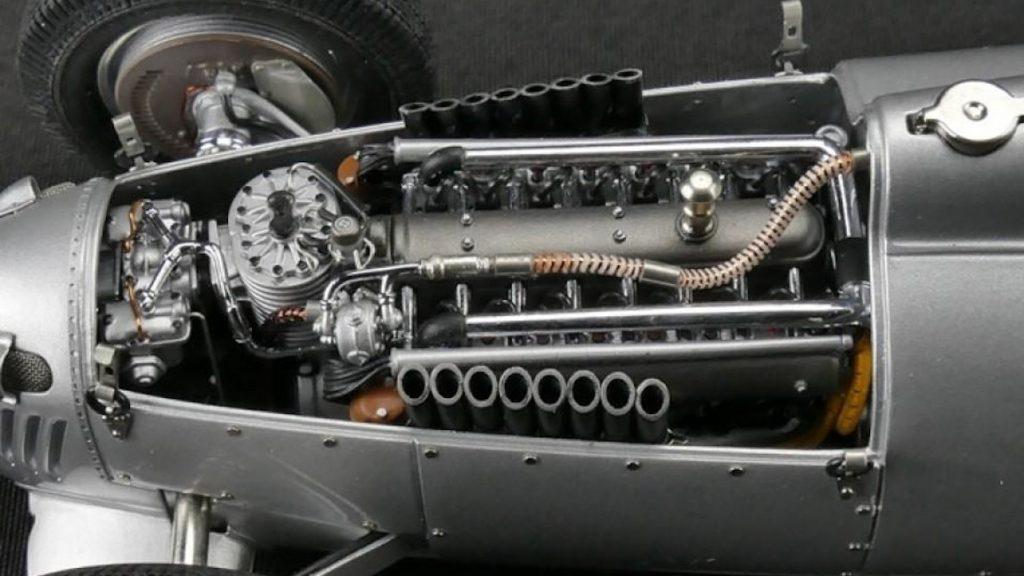 Diese Bastler haben einen Grand Prix-Rennwagen aus dem Jahr 1936 nachgebaut - samt funktionierendem Mini-V16