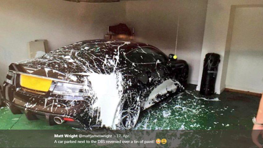 Warum man den Garagenplatz für seinen Aston Martin DBS mit Bedacht wählen sollte