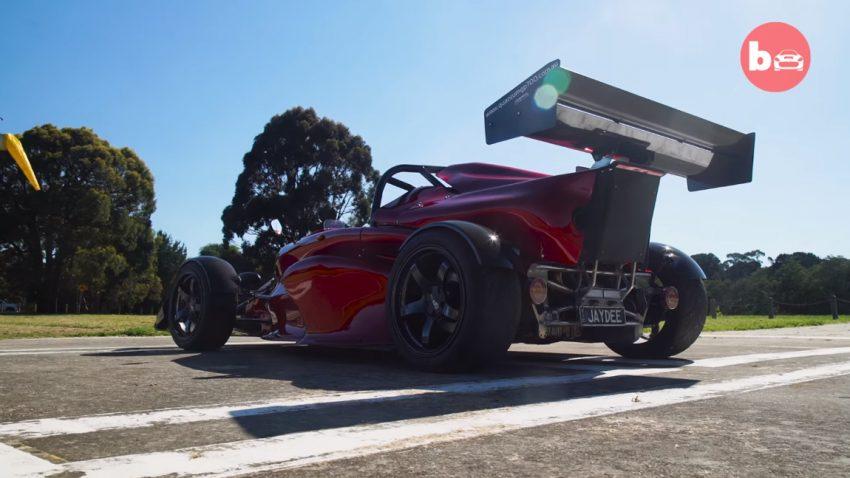 In 2,6 Sekunden von 0 auf 100: Dieser Australier hat sein eigenes Supercar gebaut