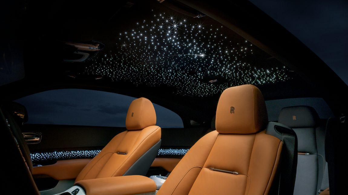 Rolls-Royce Wraith Luminary: Nach den Sternen greifen