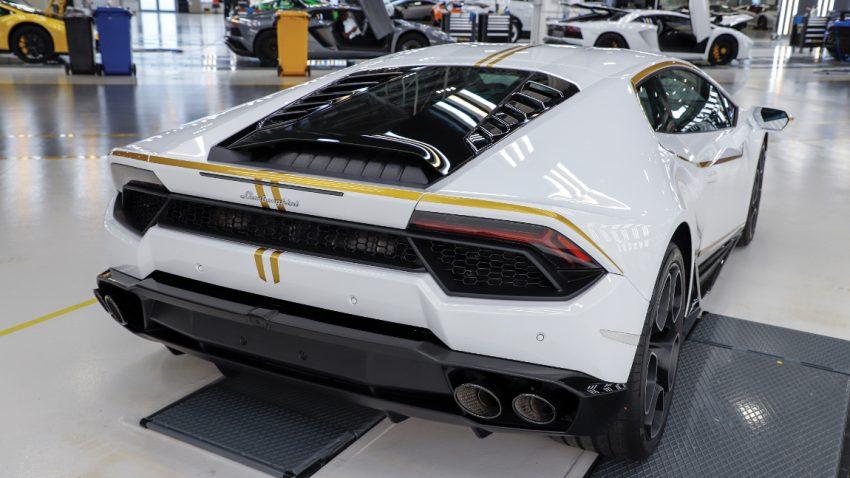 Papst-Lamborghini in Monaco versteigert