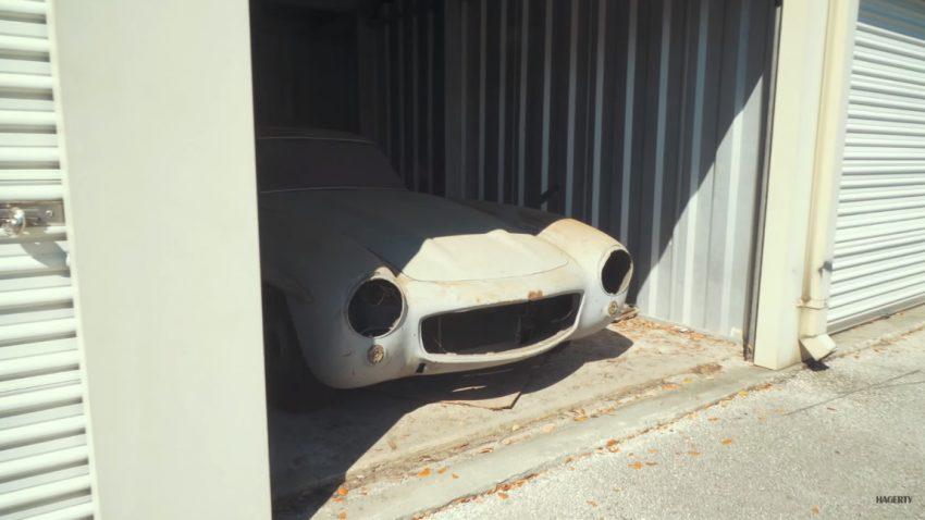 In diesem Mietlager schlummert der 43. Mercedes-Benz 300SL Gullwing im Originalzustand