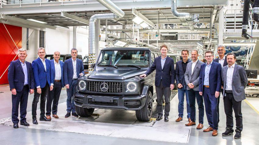 Serienproduktion der neuen Mercedes G-Klasse startete bei Magna in Graz