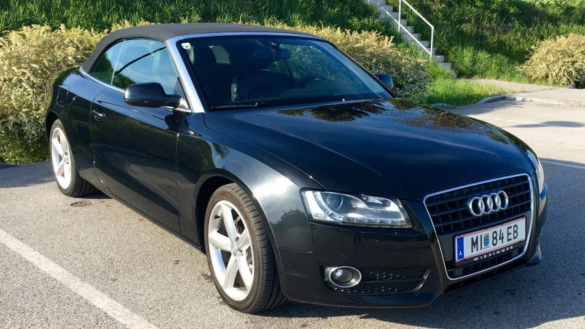 Audi A5 Cabrio 2.0 DPF TDI (verkauft)
