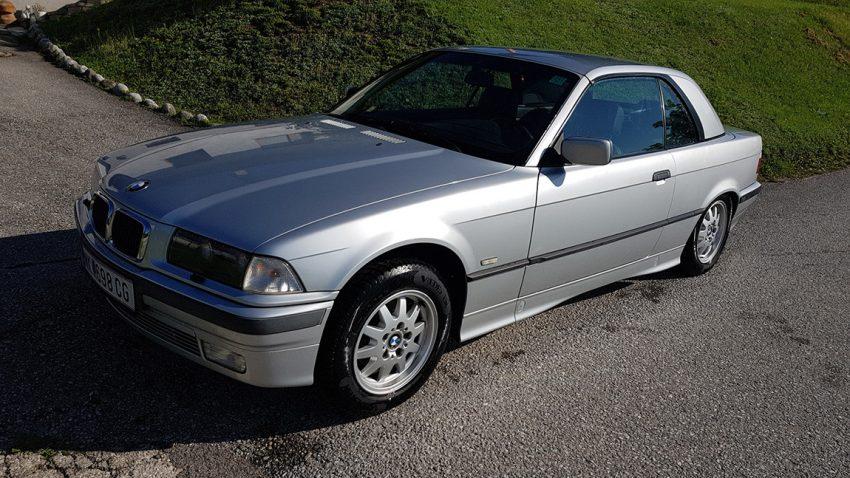 BMW 318i Cabriolet Grbauchtwagen zu verkaufen