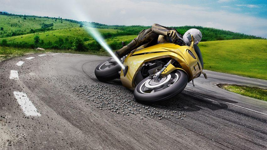 Bosch Gasstoß Gasdüse Rutschverhinderung Fahrsicherheit