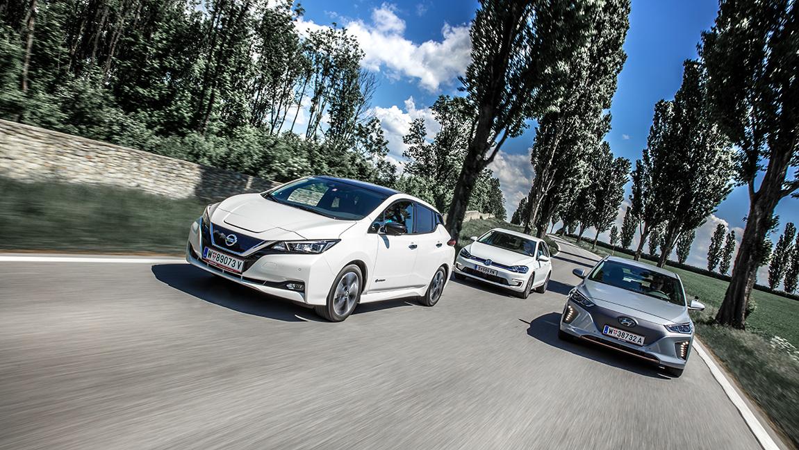 Vergleich Elektroautos