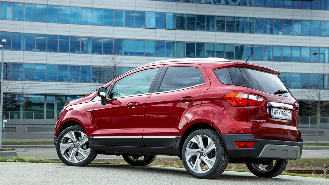 Ford Ecosport 1,0 Testbericht