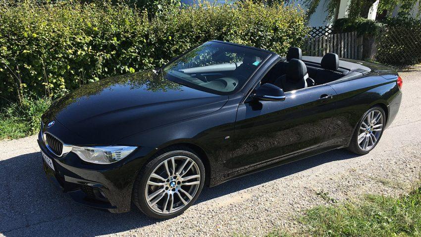 Gebrauchtwagen BMW 420d Cabriolet zu verkaufen