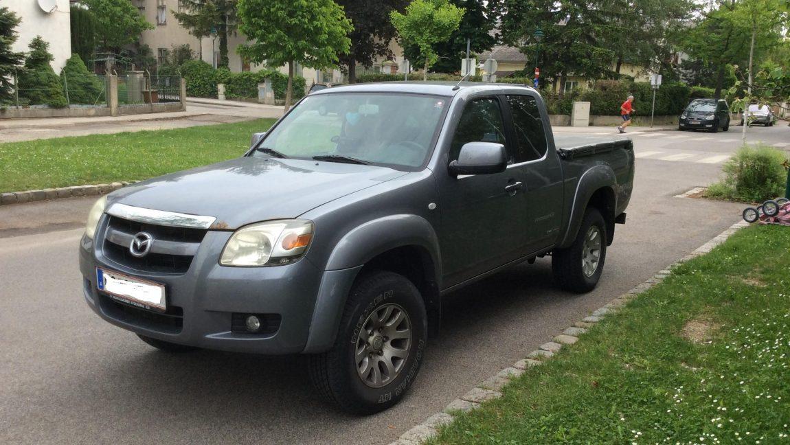 Gebrauchtwagenmarkt Mazda BT50 Pickup zu verkaufen