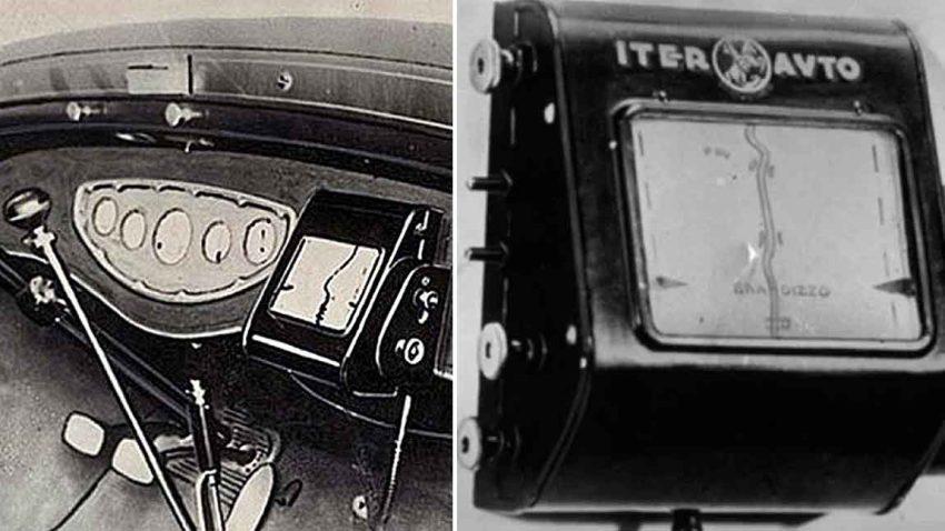 Das erste Navigationsgerät der Welt