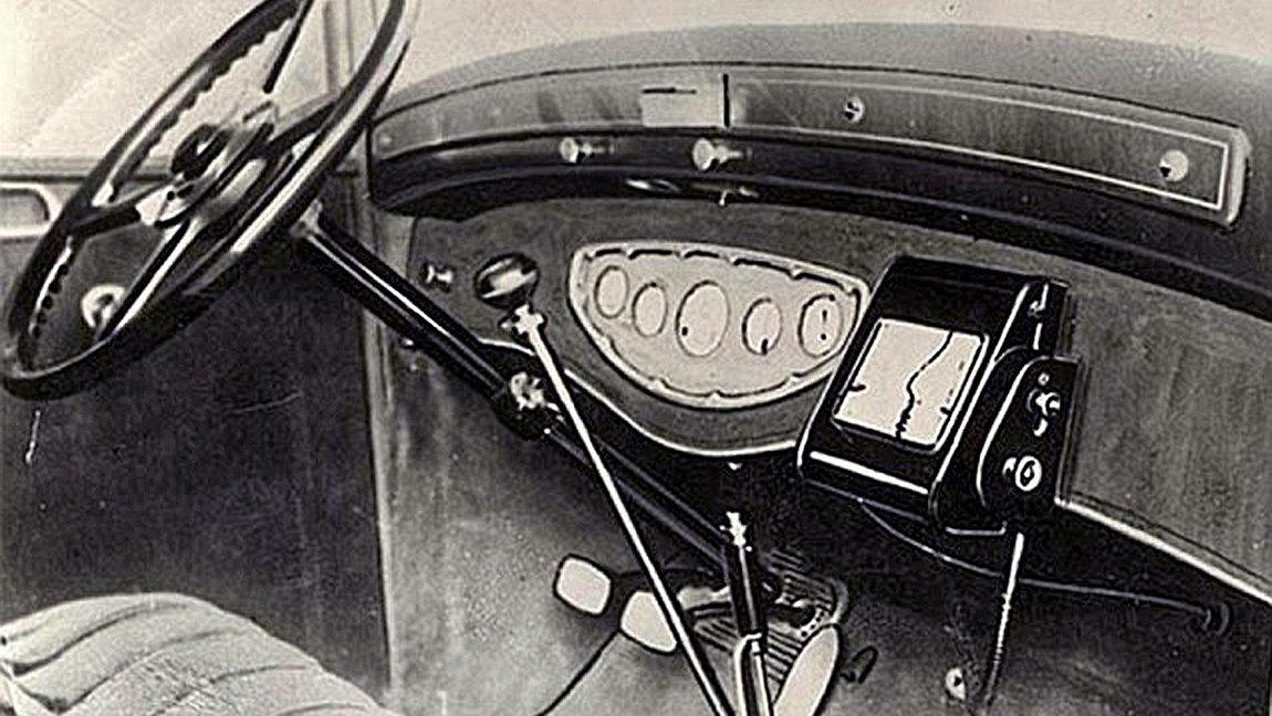 Iter Avto das erste navigationsgerät der welt