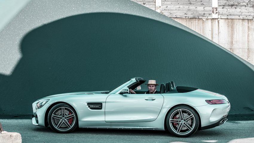 Mercedes-AMG GT C Roadster Test