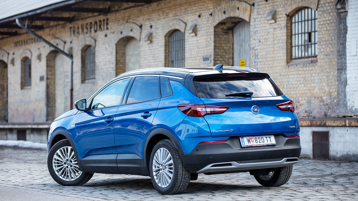 Opel Grandland X 1,2 Turbo Test