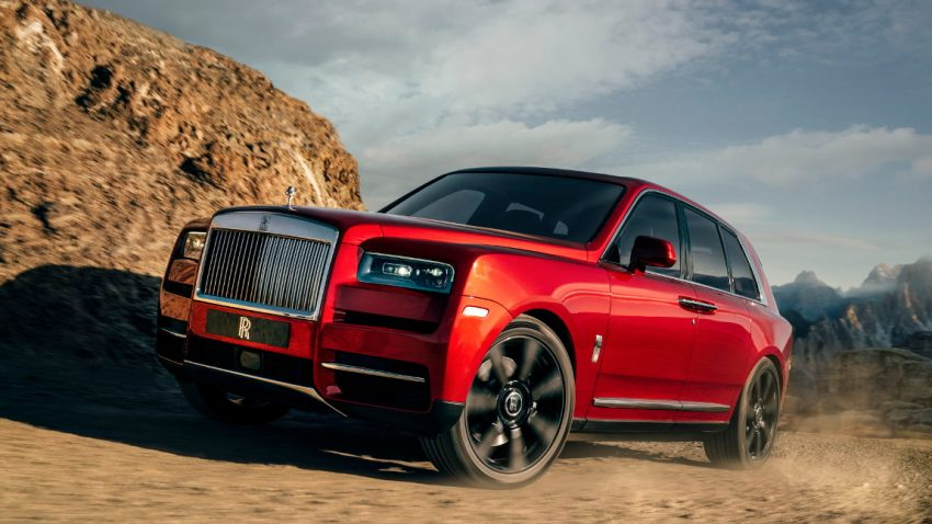 Grenzenloser Luxus: Das ist der Rolls-Royce Cullinan