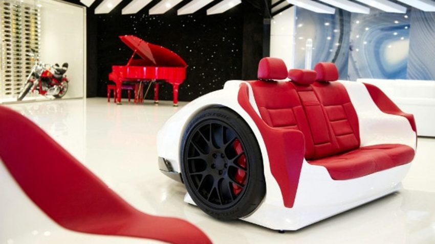 Supercar Style für's Wohnzimmer