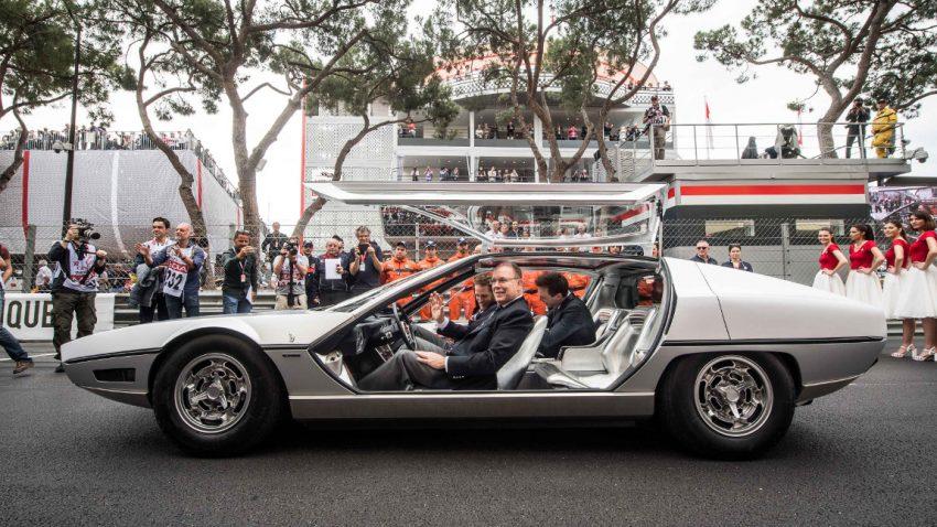 Lamborghini Marzal: Ein halbes Jahrhundert später