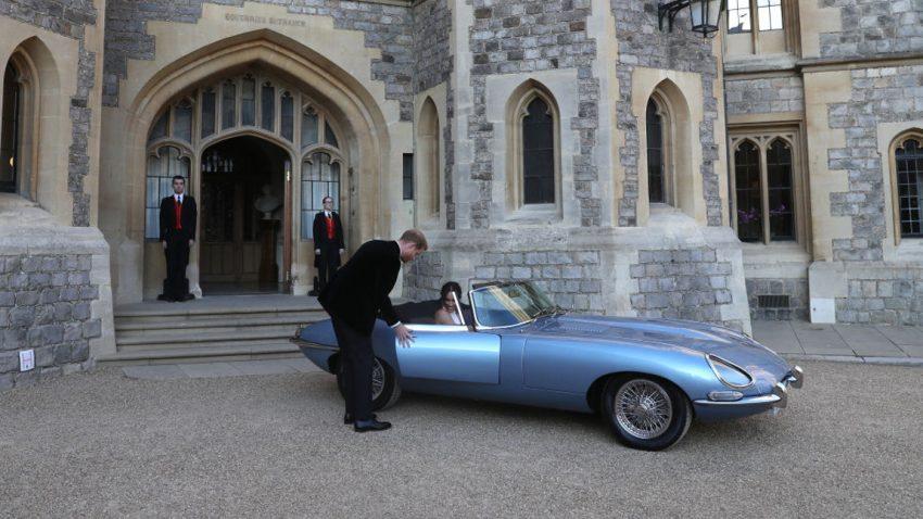 Der heimliche Star der königlichen Hochzeit: Jaguar E-Type Zero