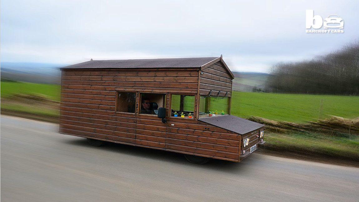 162 km/h: Neuer Rekord für die schnellste Gartenhütte der Welt