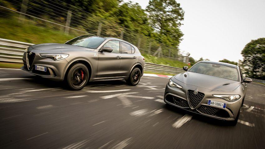 Alfa Romeo Giulia und Stelvio Quadrifoglio NRING