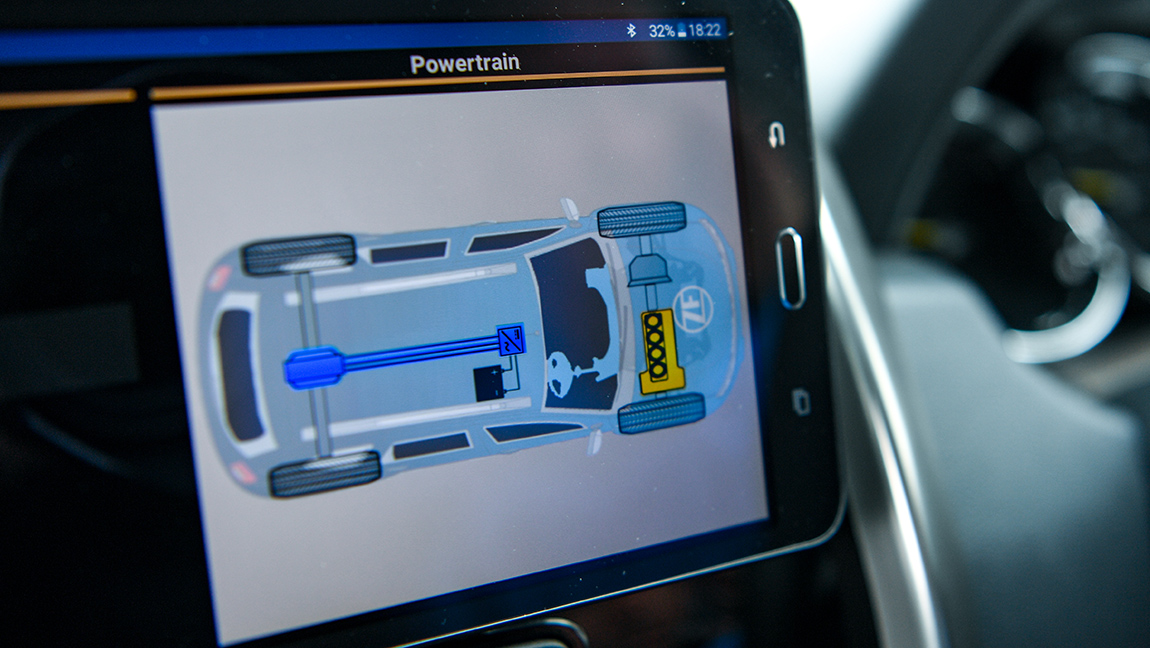 ZF eAMT Hybridantrieb automatisiertes Getriebe HInterachse
