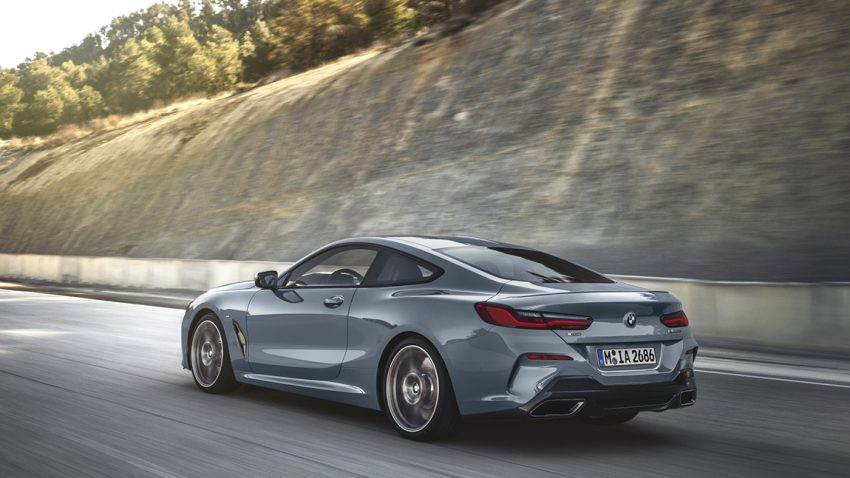 BMW 850i Coupe 8er
