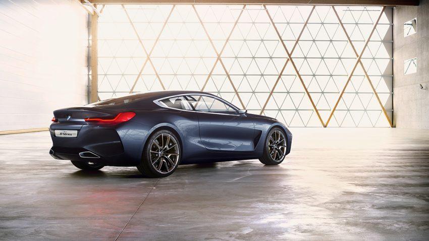 BMW 8 Series Concept Concorso D'Eleganza
